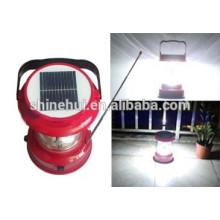 12 Leds Solar Lantern With Mobile Charger Durable Texture of Shinehui Brand in Shenzhen
