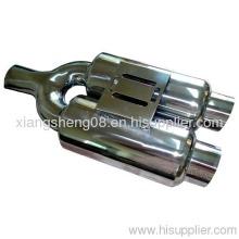 Y Shape Dual Muffler