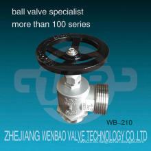 Wb-210 Dn65 Acero inoxidable 304 Hidrante Válvula Hidrante precios fabricados en China