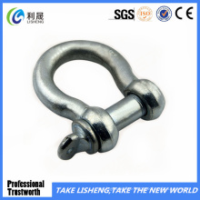 European Type Galvanized Bow Shackle