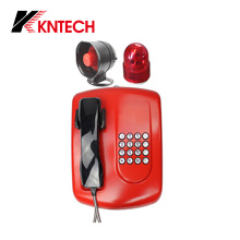 Telefone à prova de intempéries do telefone do serviço público de VoIP Knzd-04A