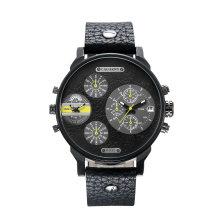 fashion Multifunction Several Eyes Wristwatch for Men Big Dial