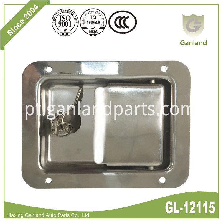 Flush Paddle Handle Latch GL12115