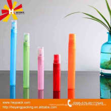 Mini cute colorful spray pump perfume bottle