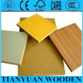 1220*2440*4.5mm Melamine Faced MDF Manufacturer