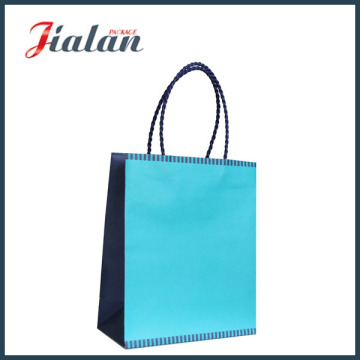 White Craft Paper Bag with Twisted Paper Handle