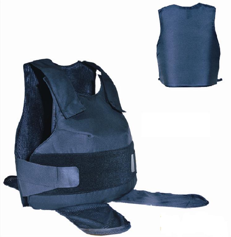 Gilet pare-balles bleu Protection féminine