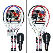 High Quality Aluminum /Carbon fiber tennis racket hot sell