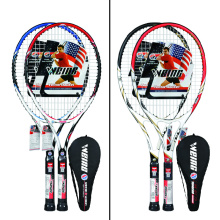 High Quality Aluminum /Carbon fiber tennis racket hot sell