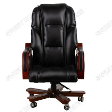 Wholesale Retro Style Electric Vibrating Office Massage Chair PU Leather Shiatsu Officer Chair Massager