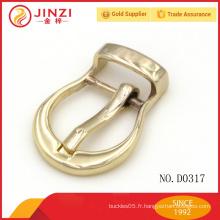Custom Chine usine bon marché logo métal sac à dos boucle