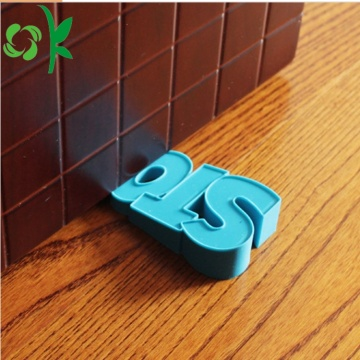 Silicone Door Slam Draft Stopper Wedge pour la maison