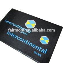 Office Chair Plastic Mat, Rubber Backing Door Mat With Logo SA-02