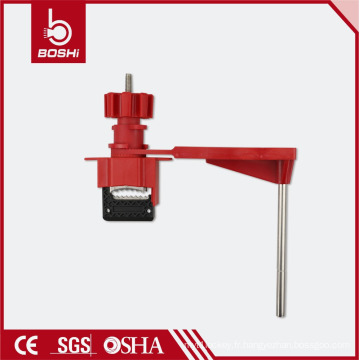 Verrouillage de la vanne de la roue à main BD-F31, serrure avec robinet à bille quart de tour pour un seul bras, conforme aux normes OSHA