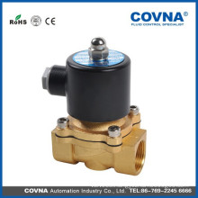 "Direct lifting diaphragm brass zero pressure open 240V solenoid valve 3/8"" 2way air, water, oil wire coil solenoid valve"