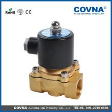 """Diafragma de levantamento direto latão pressão zero aberto válvula solenóide de 240V 3/8 """"2way ar, água, bobina de arame de óleo válvula solenóide"""