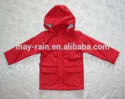 Red chilren jacket kids life jacket kids denim jacket