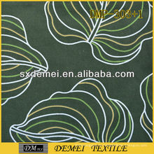 дешевые текстильные тропический дизайн диван красочные ткани узор