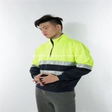 Réflecteur de couleur assortie aux vêtements de travail en polaire