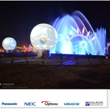 6m Seamless Inflatable Sphere Display