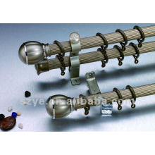 electrophoresis fluted aluminium curtain rod