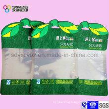 Aluminum Foil Shaped Food Bag with Clear Window