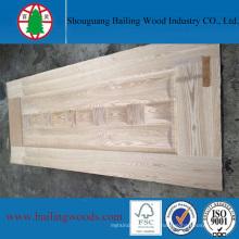 Piel de puerta de madera natural HDF moldeada