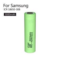 Batería de ion de litio de alta calidad recargable 18650 3.7V 3000mAh Icr18650-30b