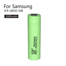 Cylindrical Rechargeable Icr18650-30b Li-ion Battery 3.7V 3000mAh Lithium Ion Battery