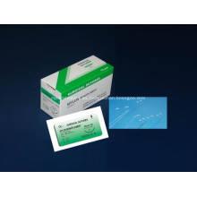 Sutura de monofilamento de nylon quirúrgico no absorbible desechable