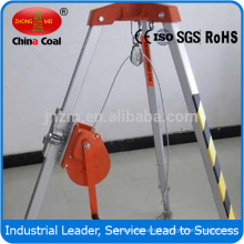 Rescue tripod for fire fighting, municipal, rescue agencies