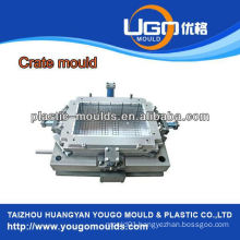 Good quality foldable injection crate mould