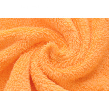 Serviettes de bain en coton orange Ringspun