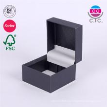 mini caja de regalo caliente del papel del dedo del anillo del slae para casarse