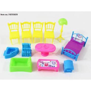 Miniature Plastic Toys of House Furniture