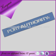 100% polyester material personalized logo name label