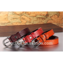 Fashion lady Embossed leather belt