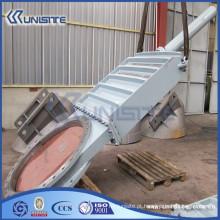 Válvula de porta de aço de alta pressão personalizada (USC10-014)