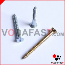 Slot Countersunk Head Wood Screw