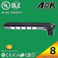 8 Años de garantía UL Dlc TUV-GS CB SAA CE Listed LED Street Lamp