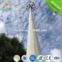 Éclairage de haut mât d'appareil de contrôle d'appareil électrique de 15M 18M 30M avec le mât télescopique
