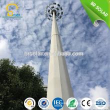 15M 18M 30M eletric appliance control device high mast lighting with telescopic mast