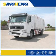 Camión de basura compactador HOWO para recolección de basuras