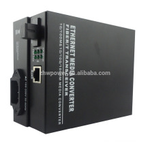 Гигабитный волоконно-оптический преобразователь 10/100 / 1000M в RJ45 Media Converter
