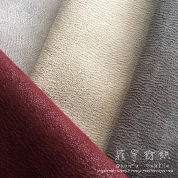 Tissus de canapé traditionnel en cuir Europe