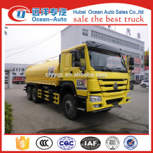 20000 litros SINOTRUK HOWO camión de transporte de agua potable