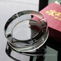 Wholesale Round Glass Crystal Cigar Ashtray for Home Decoration