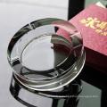 Оптовая круглый стеклянный Кристалл сигары Пепельница для домашнего украшения