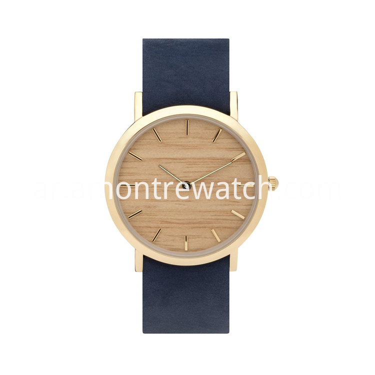 wooden ultrathin watch