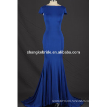 2017 Latest Design spandex sexy open back evening dress mermaid party dress